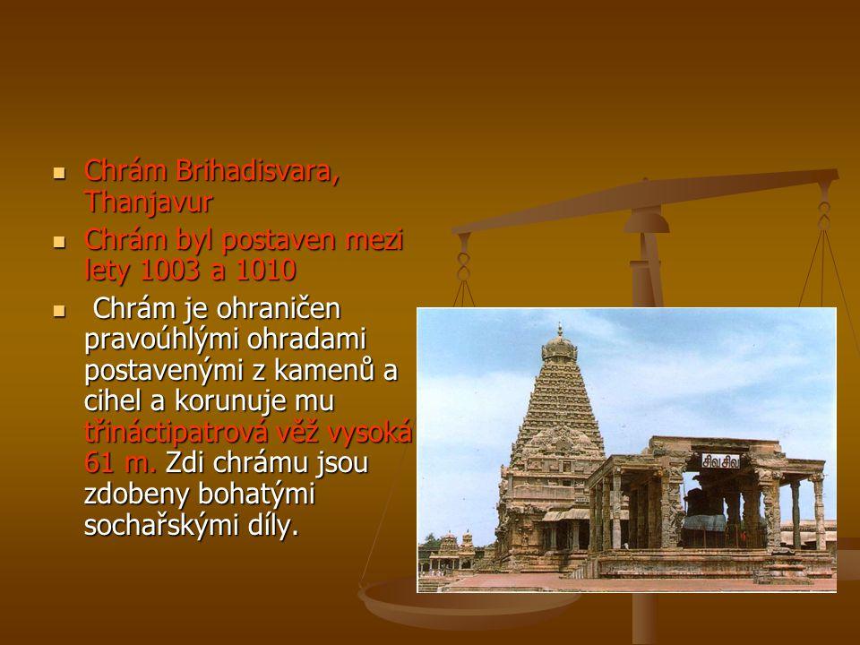 Chrám Brihadisvara, Thanjavur