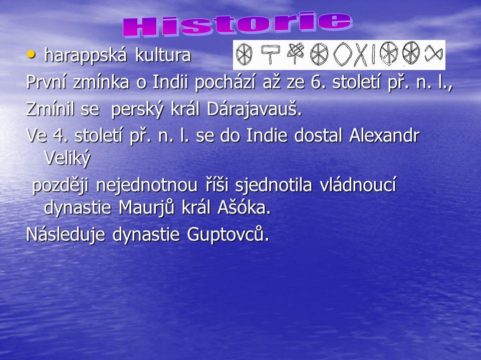 Historie harappská kultura