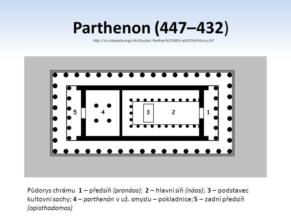 Parthenon (447– 432) http://cs.wikipedia.org/wiki/Soubor:Parthen%C3%B3n-p%C5%AFdorys.GIF.