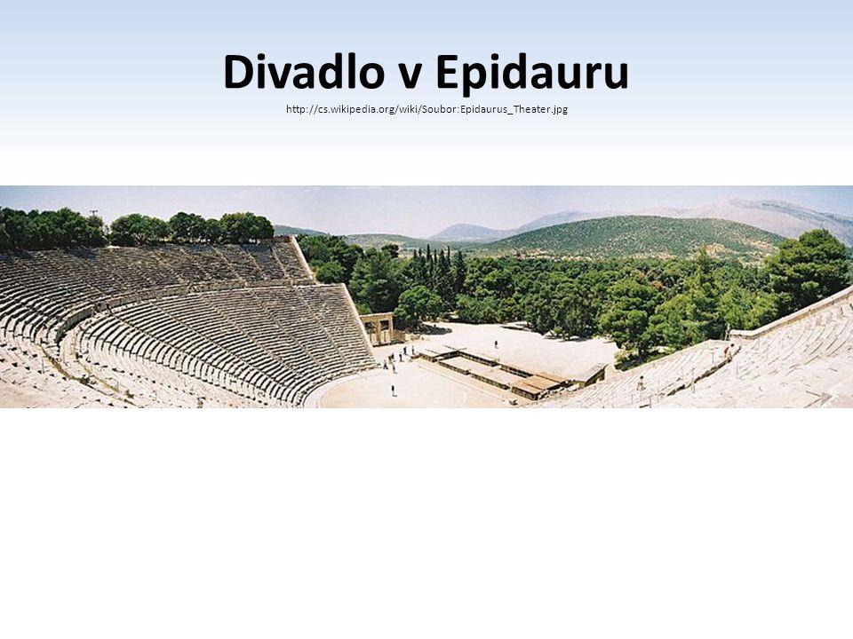 Divadlo v Epidauru http://cs. wikipedia