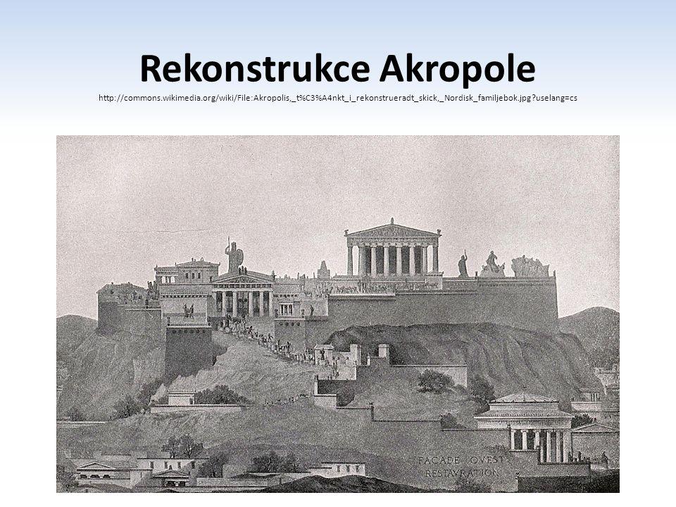 Rekonstrukce Akropole