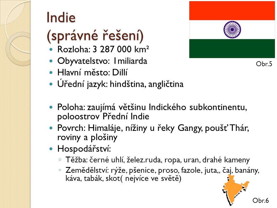 Indie (správné řešení)