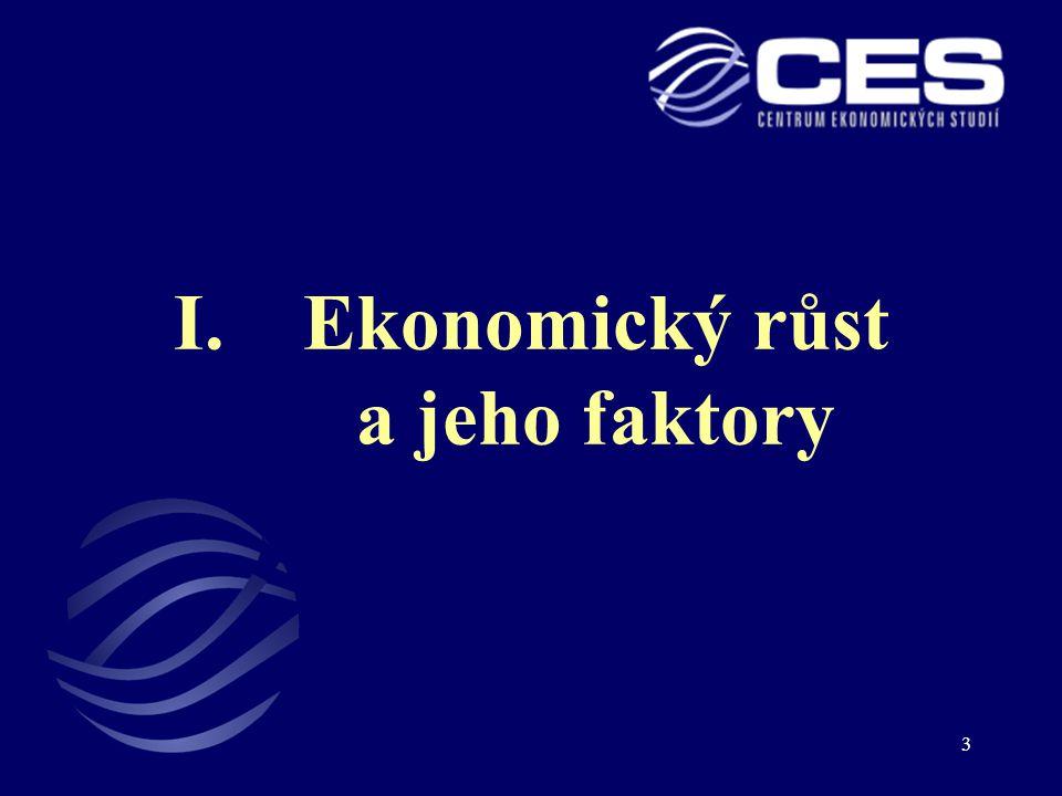 Ekonomický růst a jeho faktory
