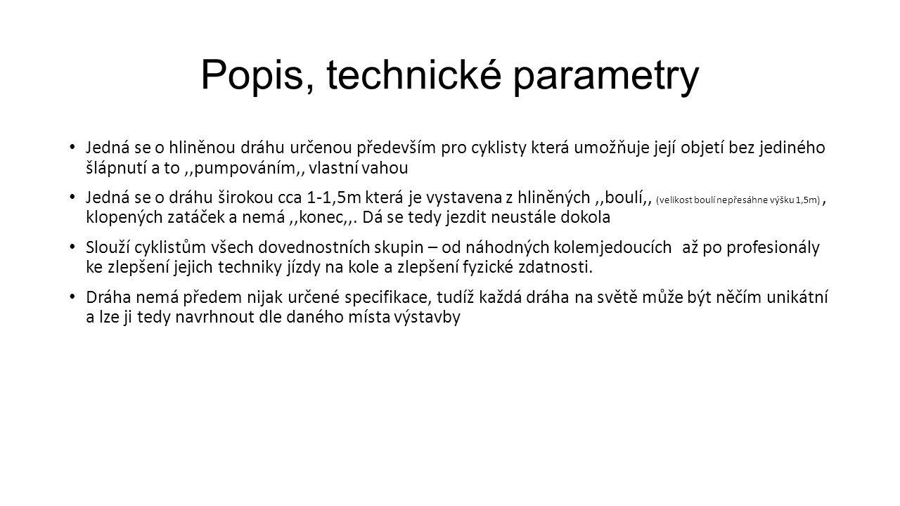 Popis, technické parametry