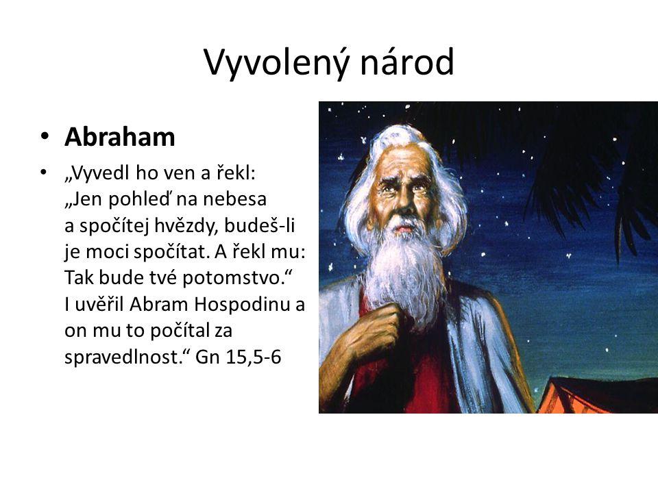 Vyvolený národ Abraham