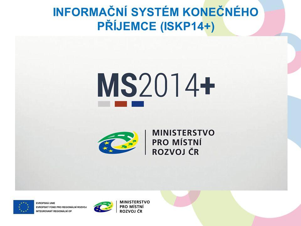 Informační systém konečného příjemce (ISKP14+)