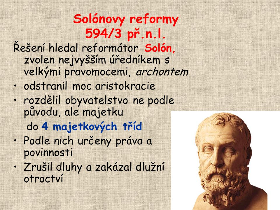 Solónovy reformy 594/3 př.n.l.