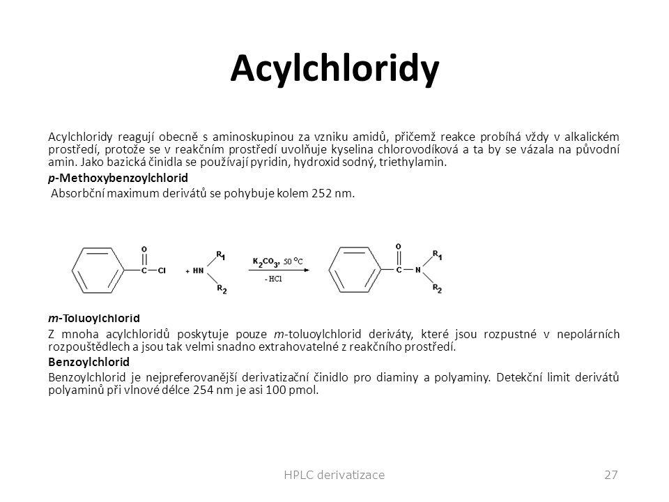 Acylchloridy