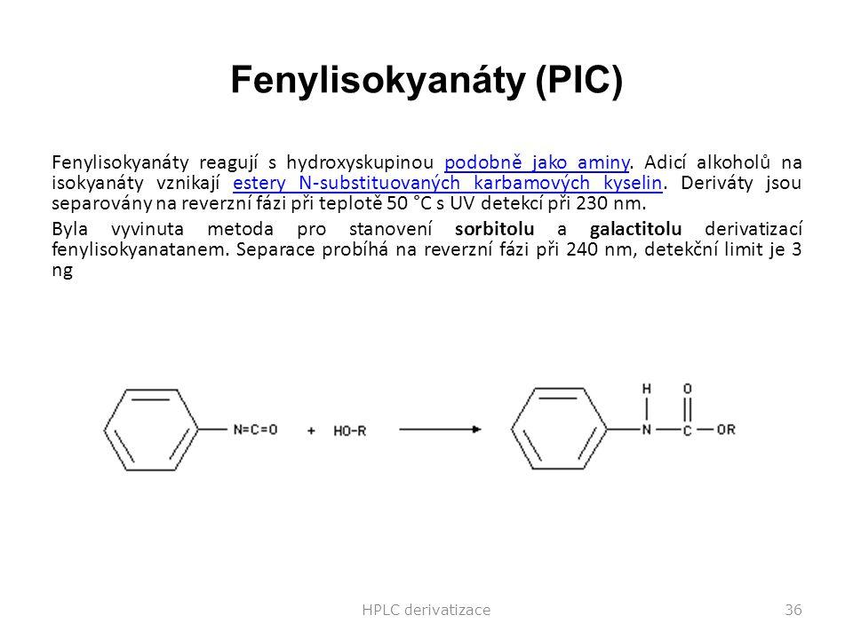 Fenylisokyanáty (PIC)