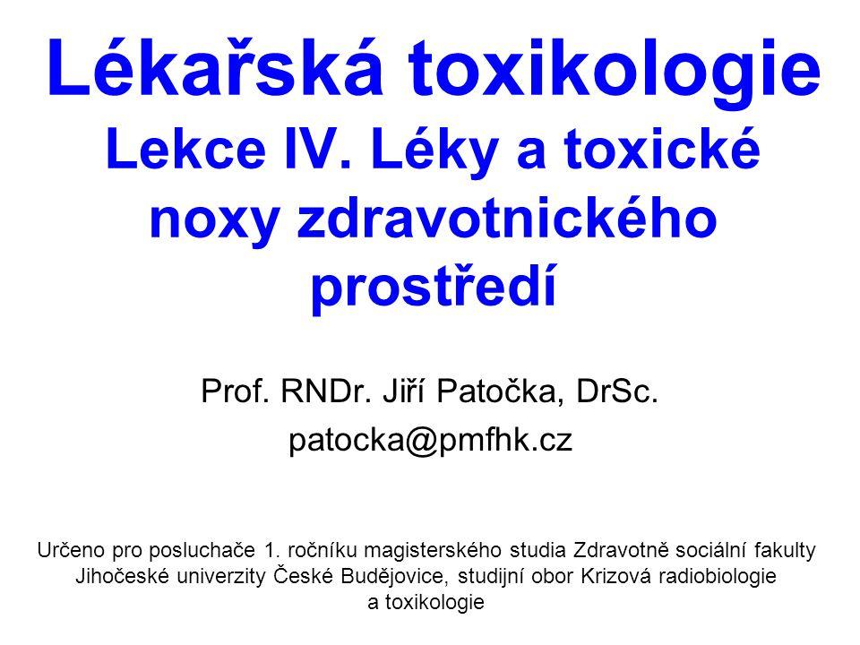 Prof. RNDr. Jiří Patočka, DrSc. patocka@pmfhk.cz