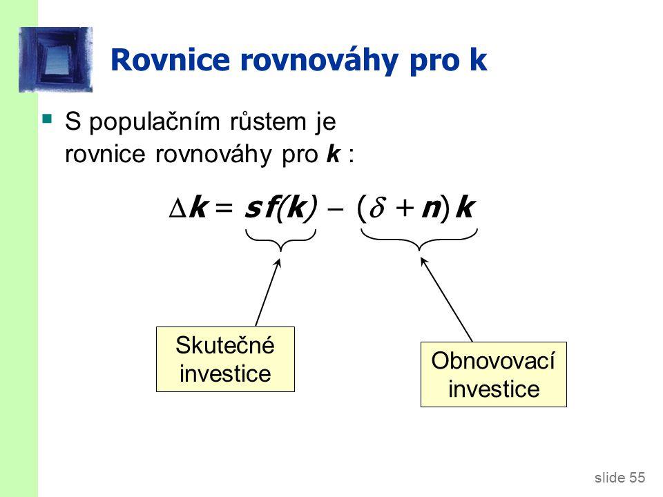 Solowův model s populačním růstem