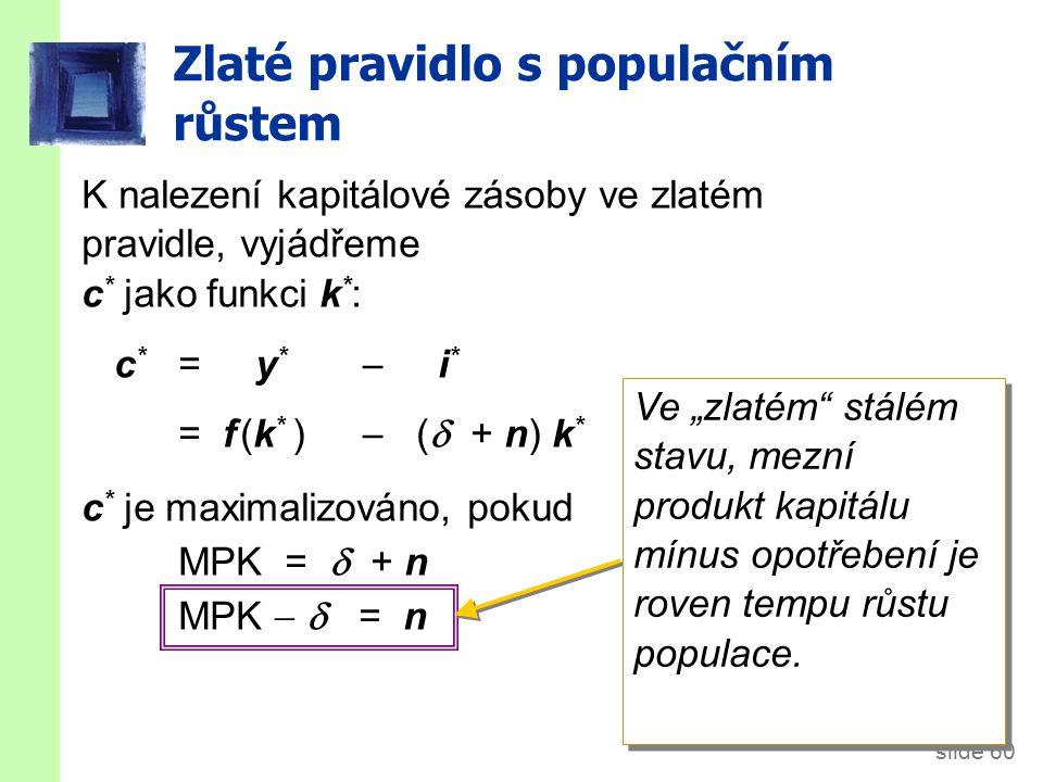 Ekonomický růst v Solowově modelu