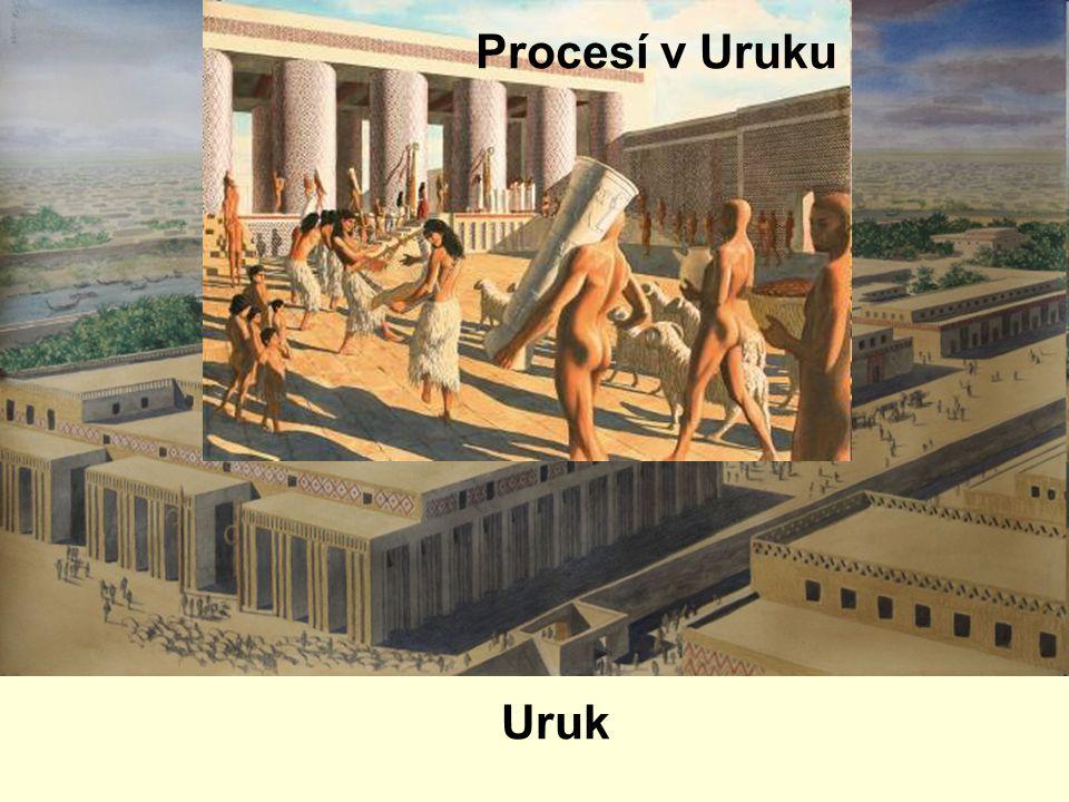 Procesí v Uruku Uruk