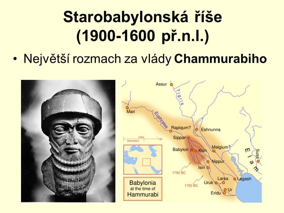 Starobabylonská říše (1900-1600 př.n.l.)