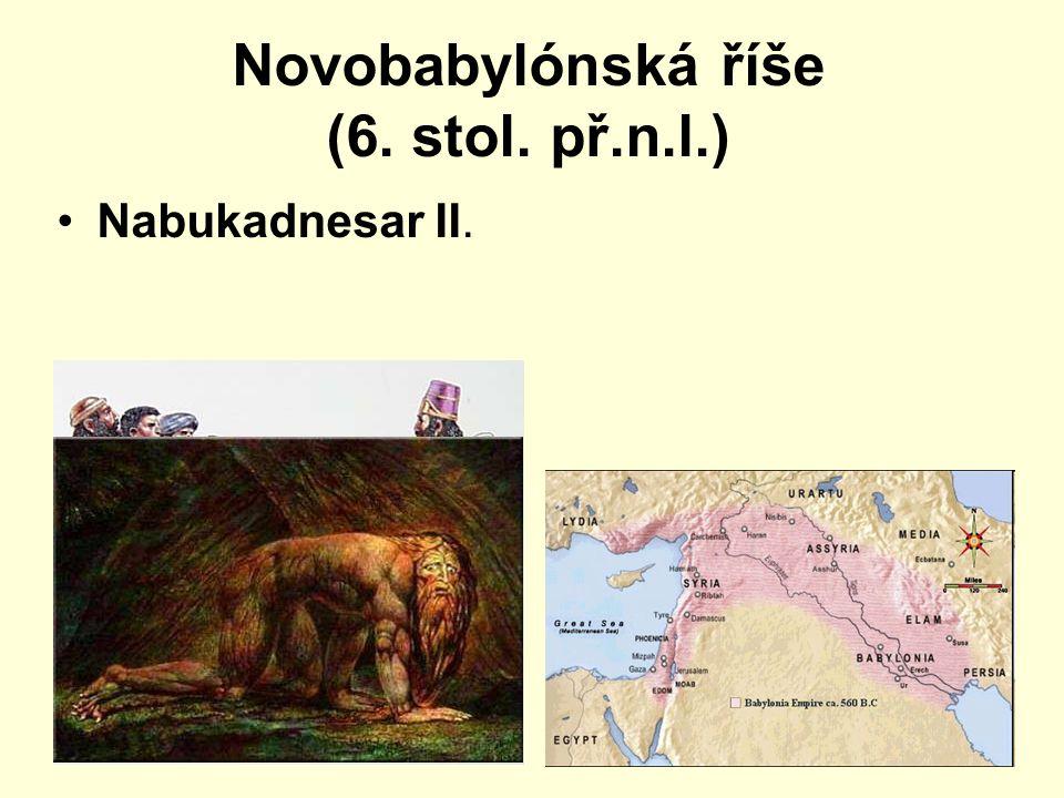 Novobabylónská říše (6. stol. př.n.l.)