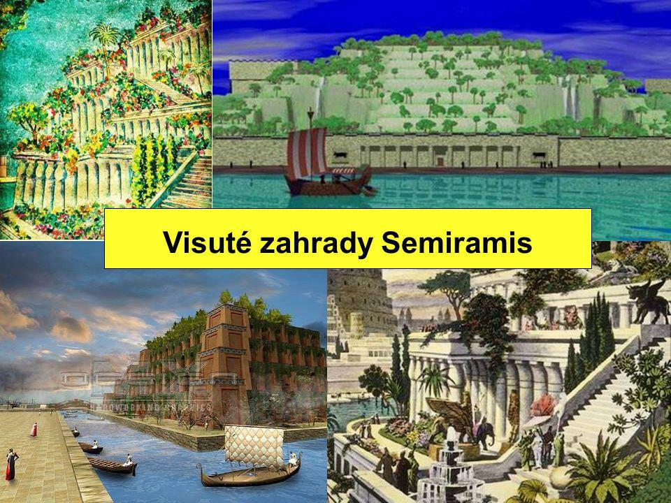 Visuté zahrady Semiramis
