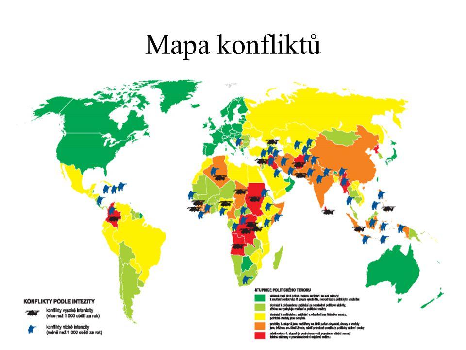 Mapa konfliktů