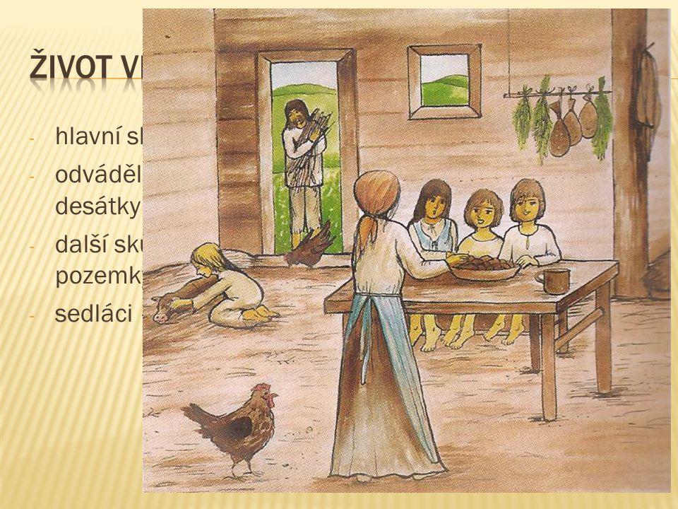 Život ve středověké vesnici