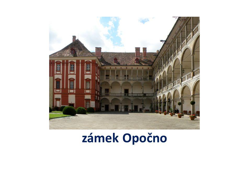 zámek Opočno