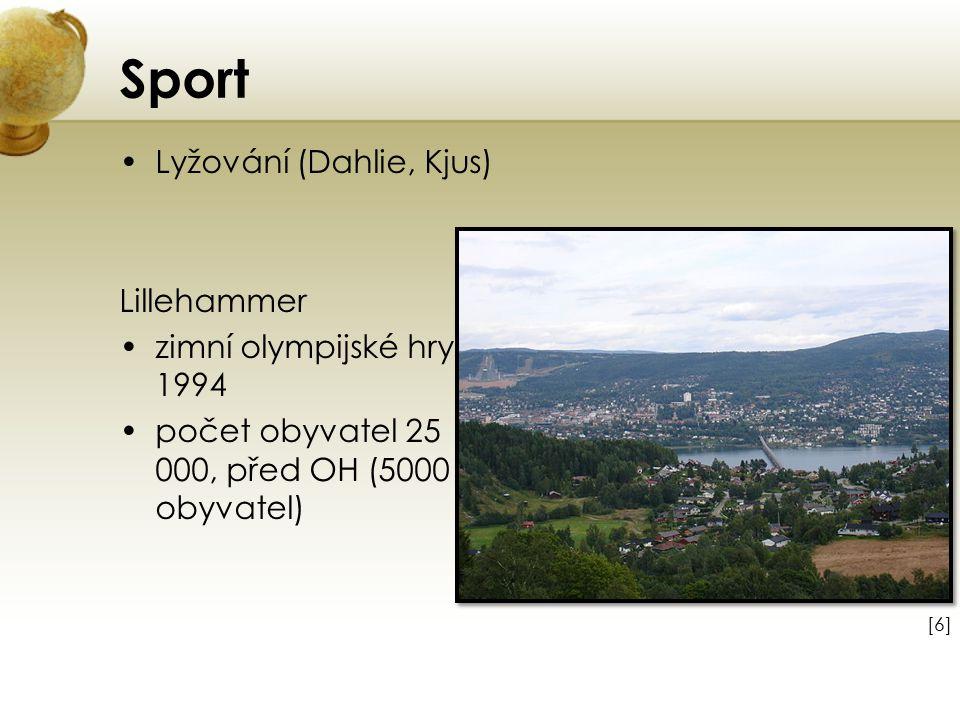 Sport Lyžování (Dahlie, Kjus) Lillehammer zimní olympijské hry 1994