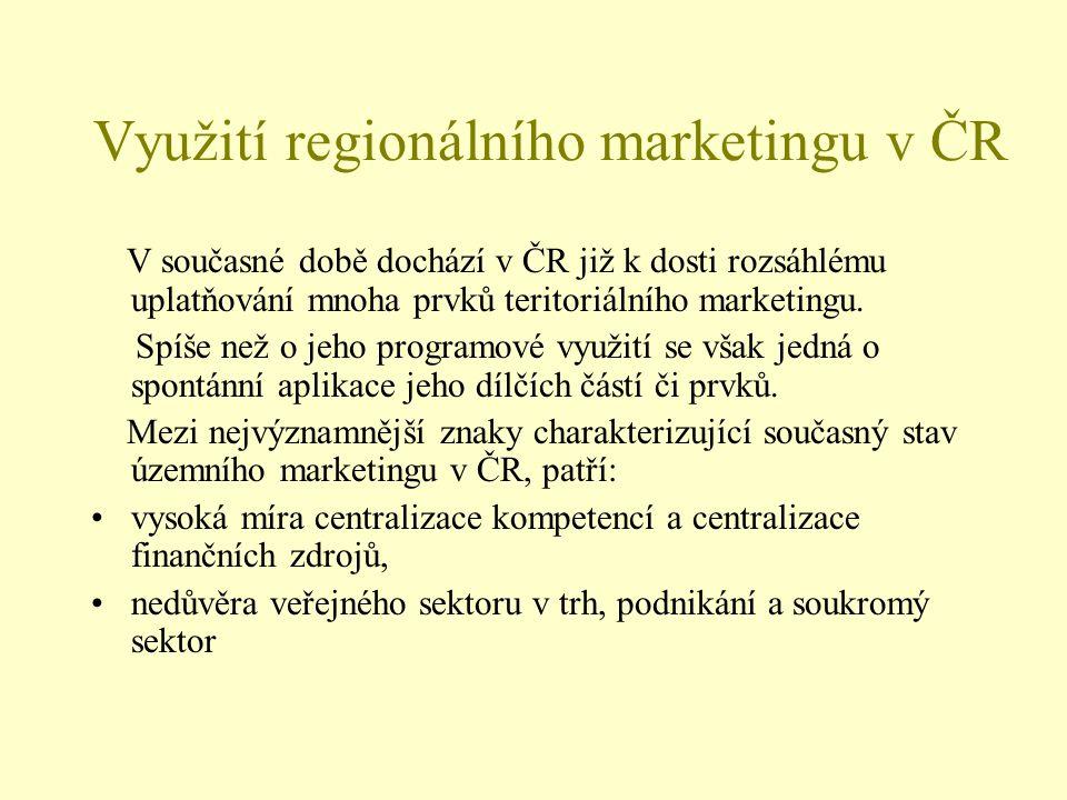 Využití regionálního marketingu v ČR