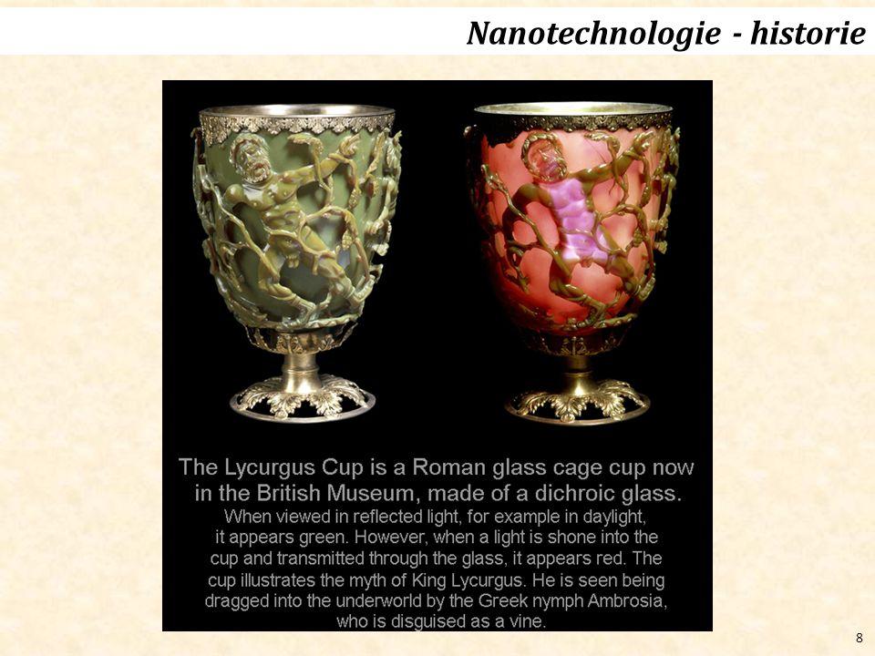 Nanotechnologie - historie