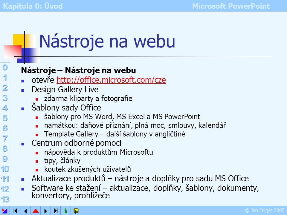 Nástroje na webu Nástroje – Nástroje na webu