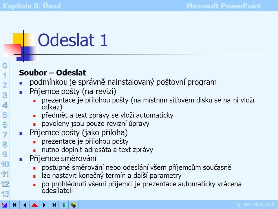 Odeslat 1 Soubor – Odeslat