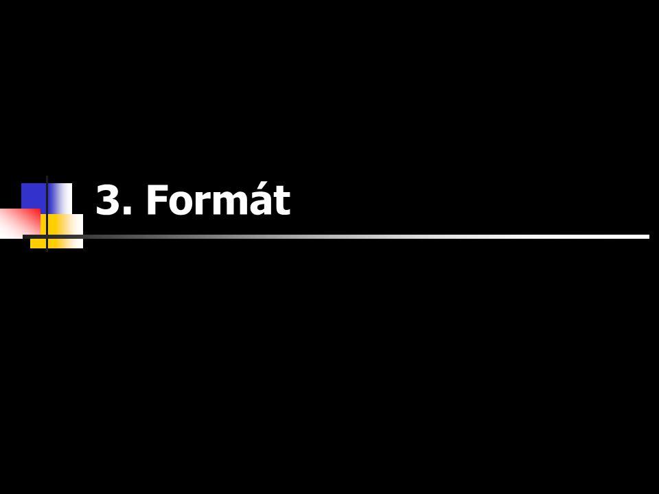 3. Formát pokus