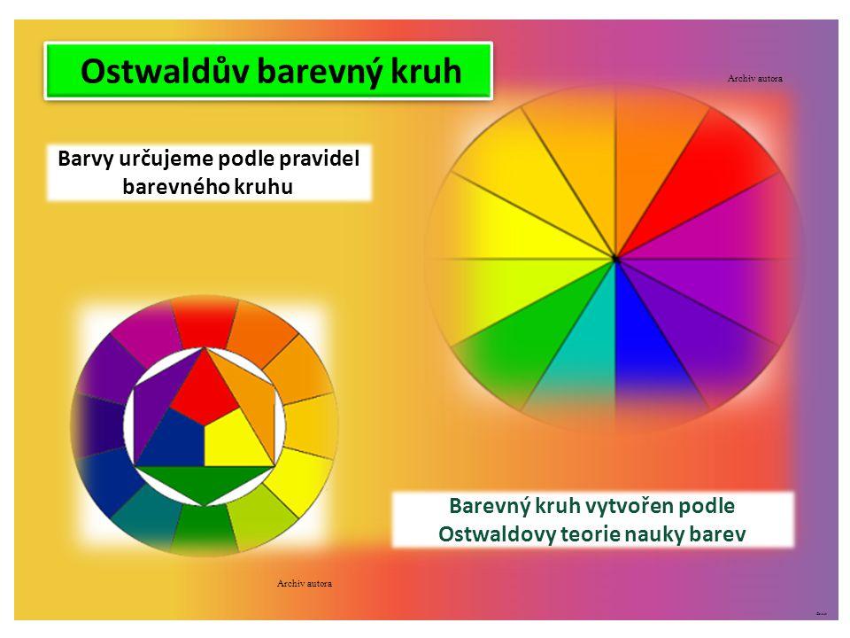 Ostwaldův barevný kruh
