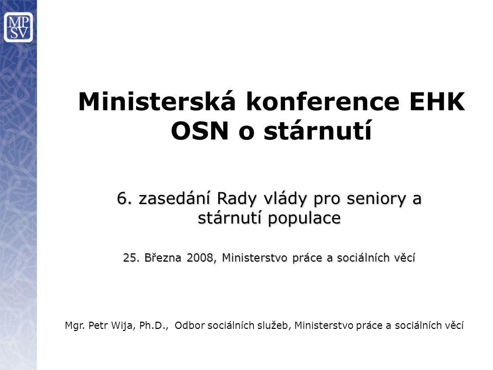 Ministerská konference EHK OSN o stárnutí