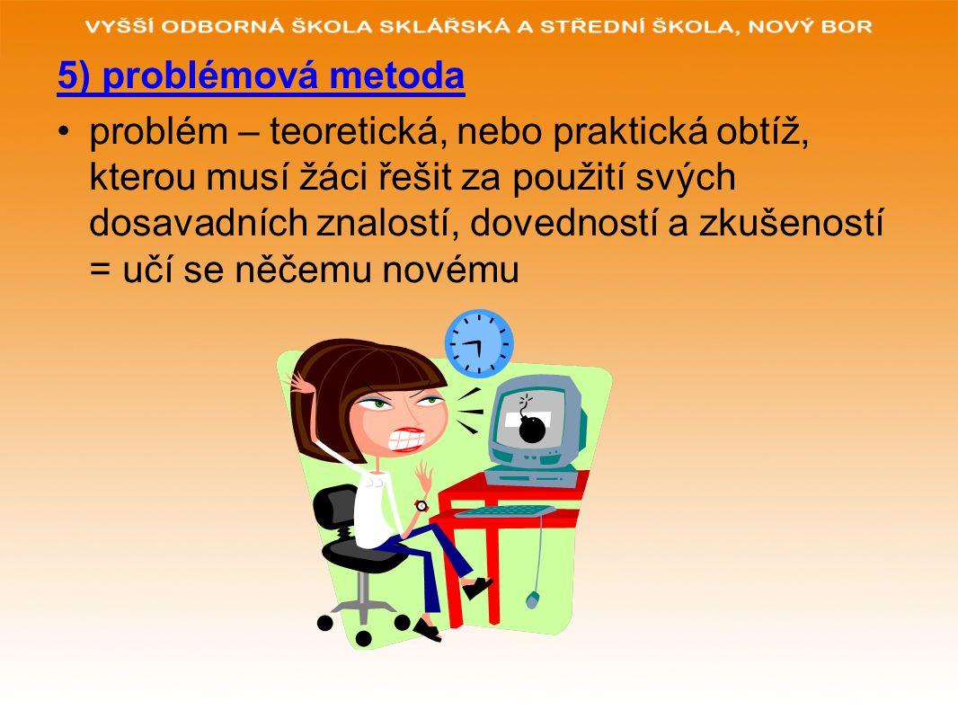 5) problémová metoda