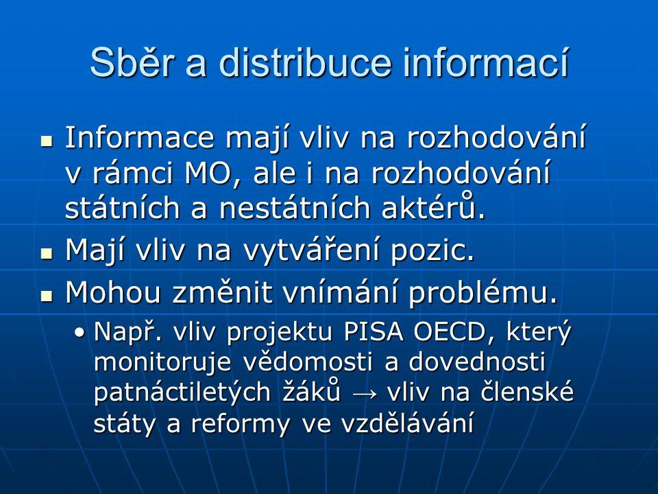 Sběr a distribuce informací