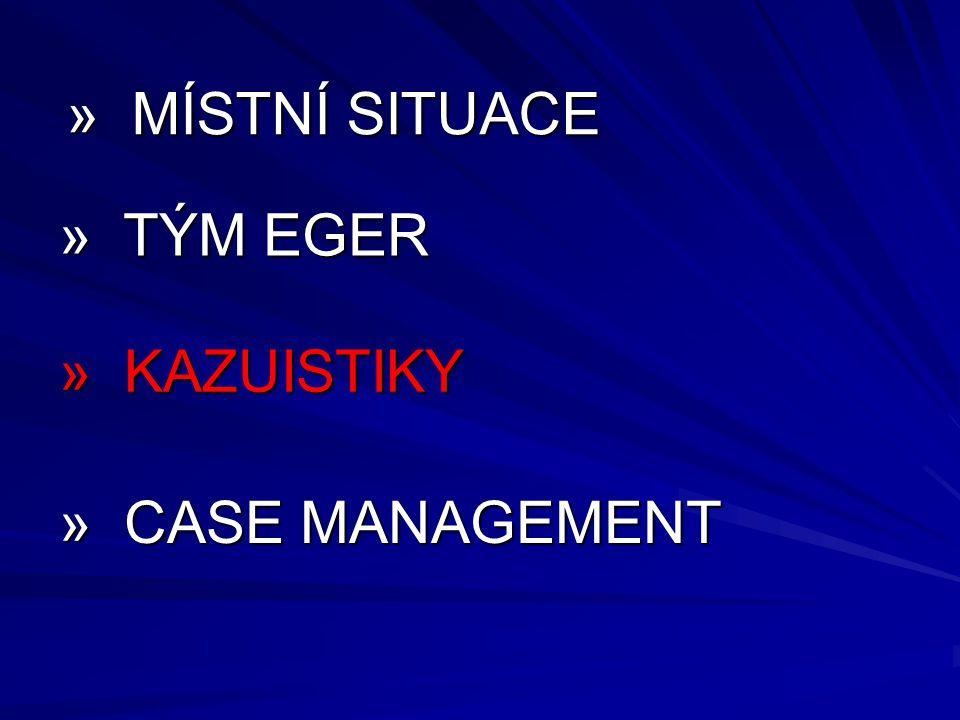 » MÍSTNÍ SITUACE » TÝM EGER » KAZUISTIKY » CASE MANAGEMENT 19