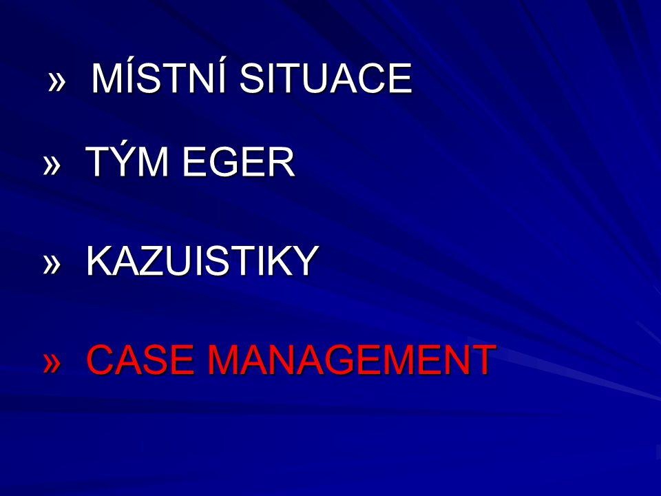» MÍSTNÍ SITUACE » TÝM EGER » KAZUISTIKY » CASE MANAGEMENT 23