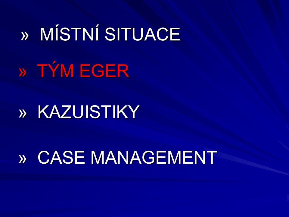 » MÍSTNÍ SITUACE » TÝM EGER » KAZUISTIKY » CASE MANAGEMENT 9