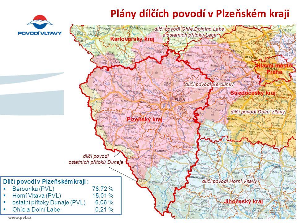 Plány dílčích povodí v Plzeňském kraji