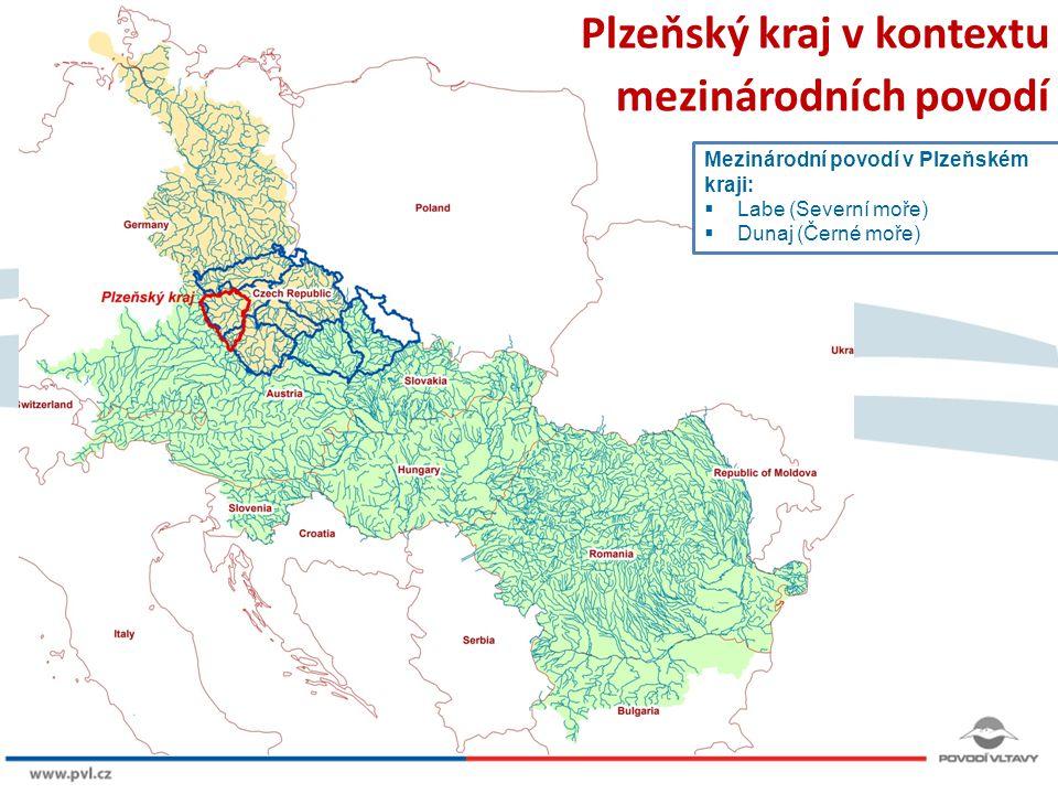 Plzeňský kraj v kontextu mezinárodních povodí