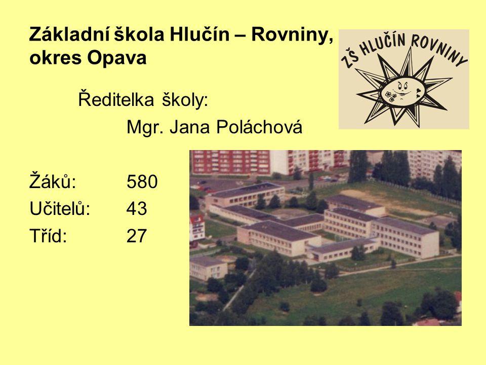 Základní škola Hlučín – Rovniny, okres Opava