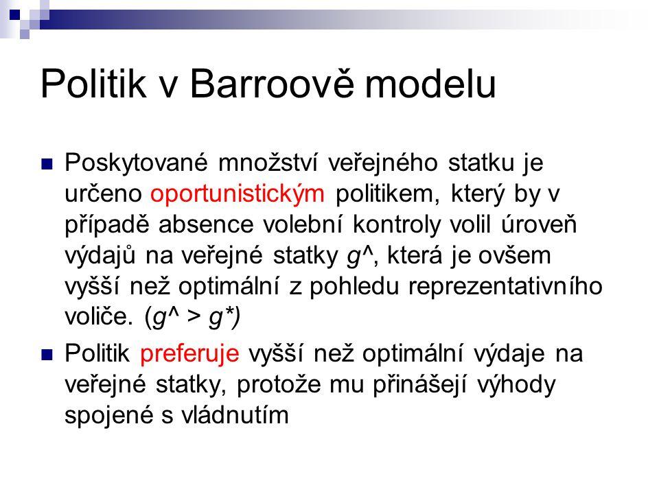 Politik v Barroově modelu