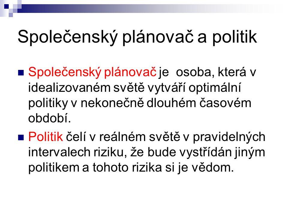 Společenský plánovač a politik