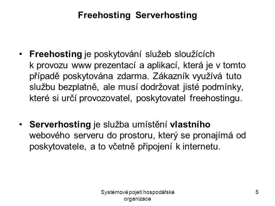 Freehosting Serverhosting