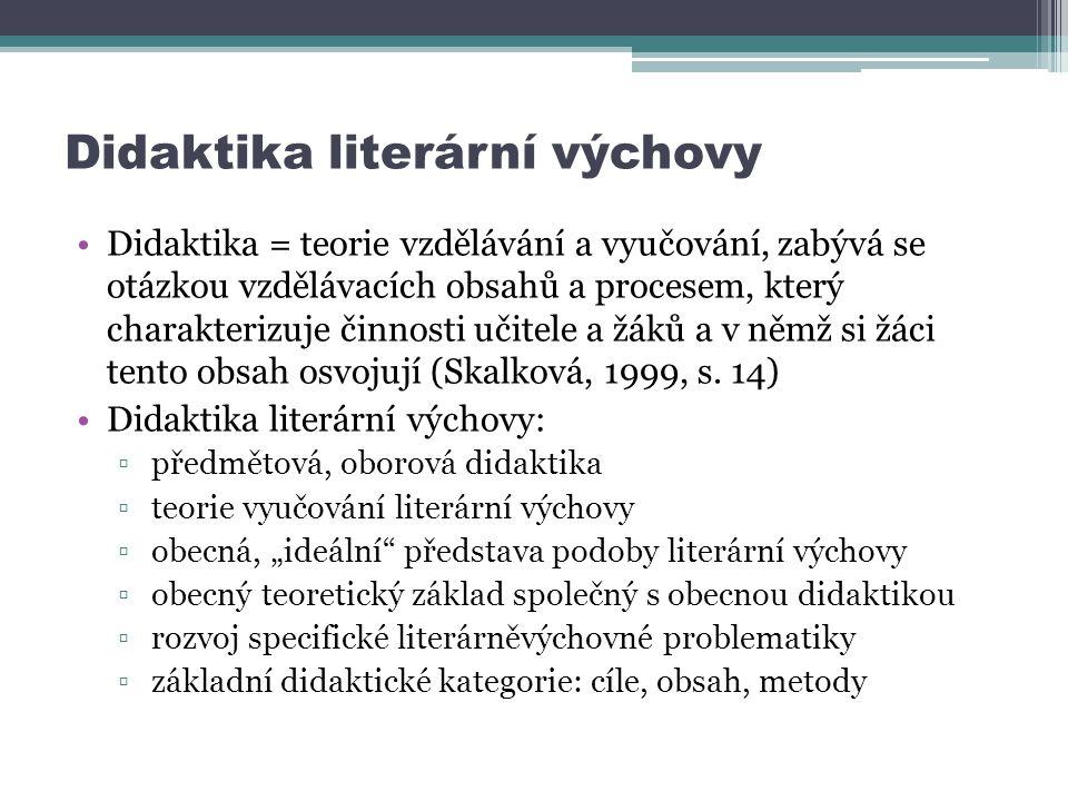 Didaktika literární výchovy