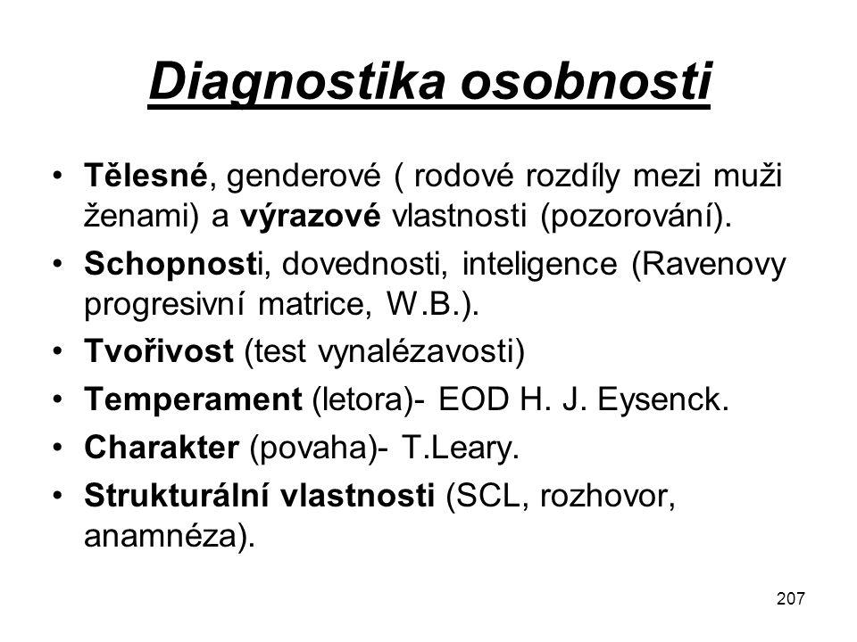 Diagnostika osobnosti