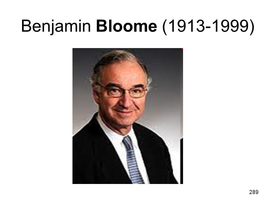 Benjamin Bloome (1913-1999)