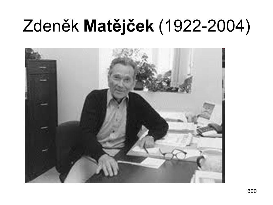 Zdeněk Matějček (1922-2004)