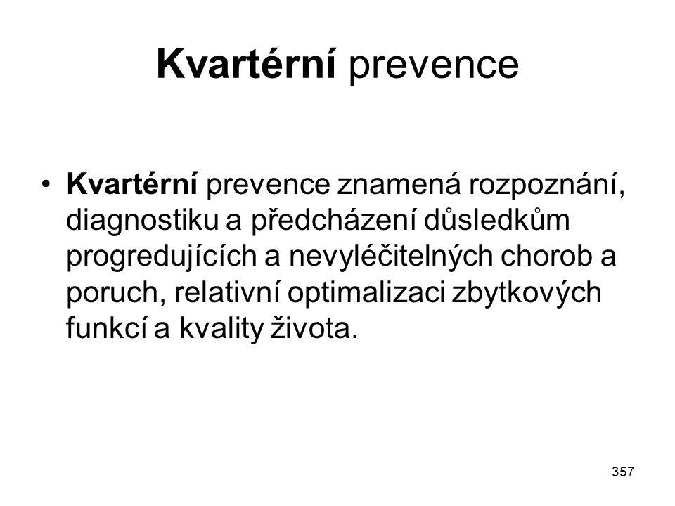 Kvartérní prevence