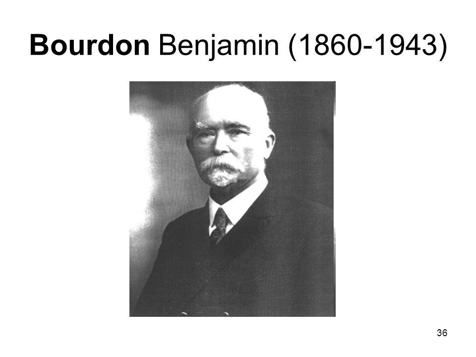 Bourdon Benjamin (1860-1943)
