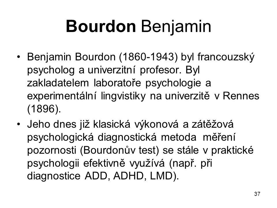 Bourdon Benjamin