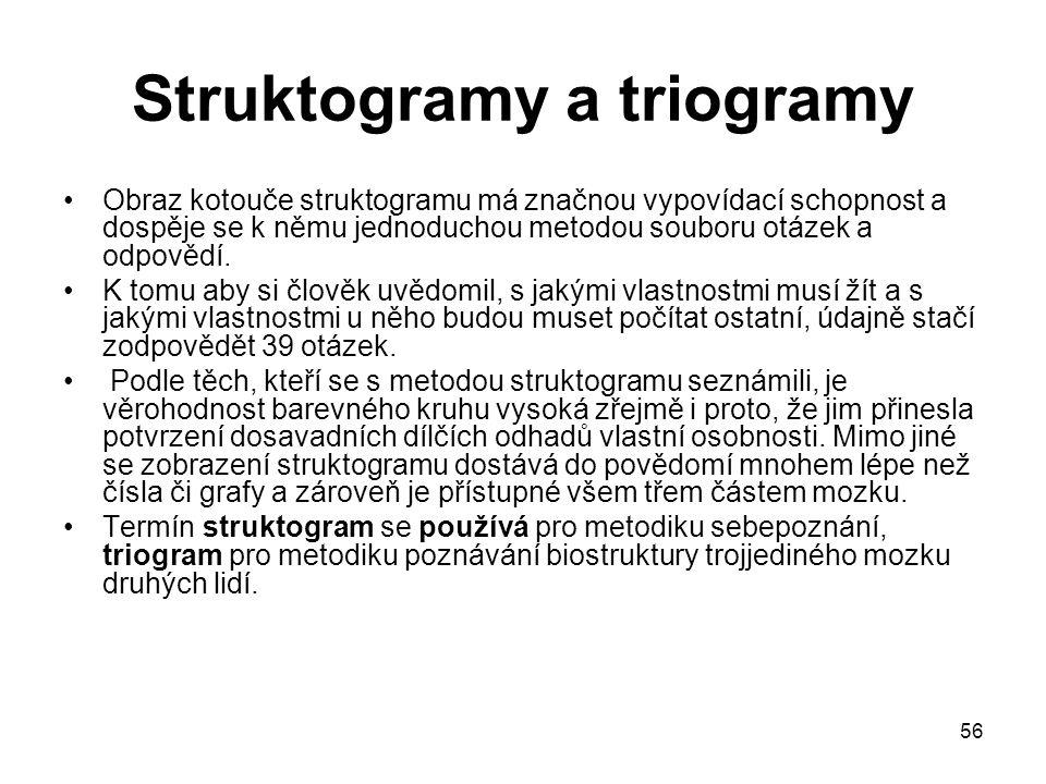 Struktogramy a triogramy